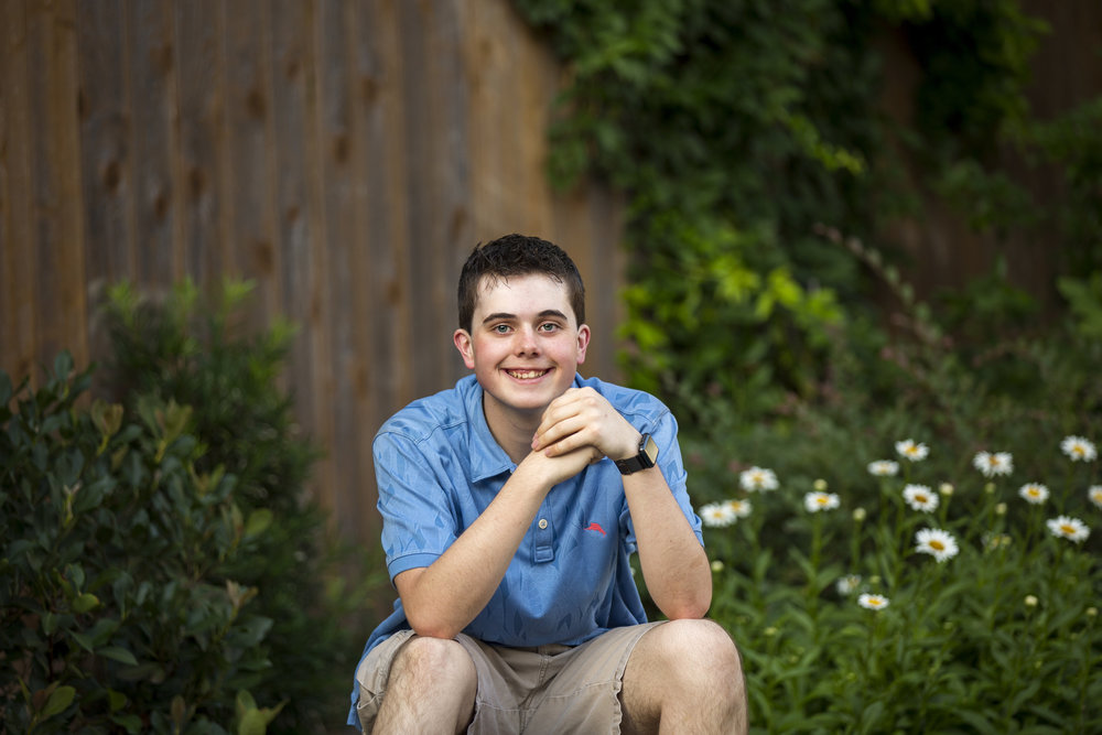 Chance Senior Session | Colleyville, TX