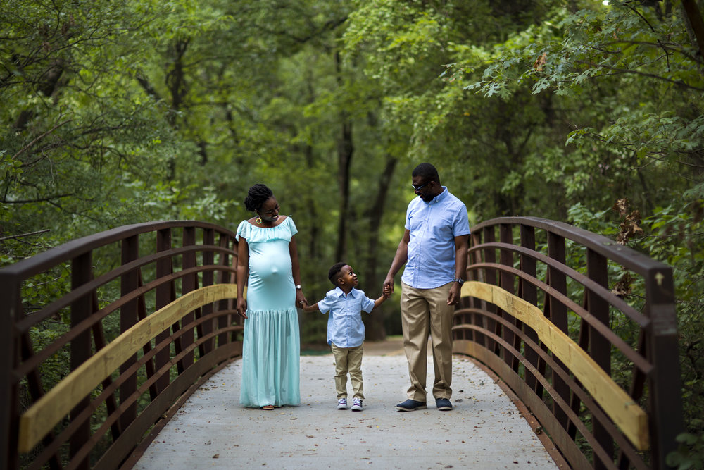 Okpo Family Maternity Session