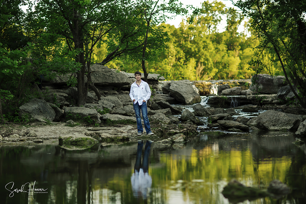 Ben Senior Session | Fort Worth & Keller, TX