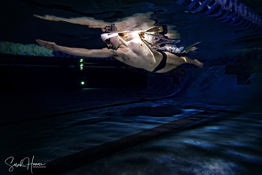 Competitive Swim Underwater Photography
