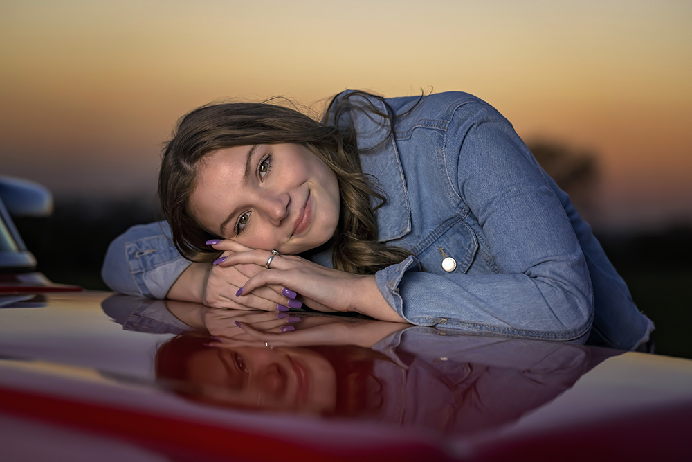Emma Senior Session | Denton, TX